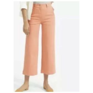Everlane Wide Leg Cropped Pants